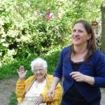 Besuch aus dem Altersheim