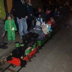 Mit der Eisenbahn durch den Winterwald