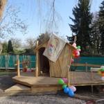 Unser neues Spielhaus