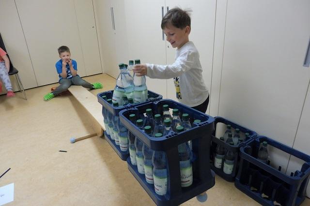 ...wie viele Wasserflaschen brauche ich?...