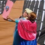 Selfie von Anna und Elsa