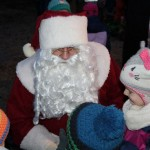 Der Weihnachtsmann darf nicht fehlen