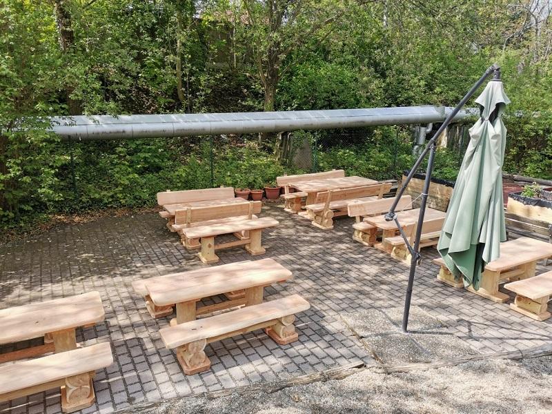 Unsere neuen Gartenmöbel